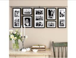 decorating creative collage picture frames for wall decoration collage picture frames plus wooden table and chair with candle holder for home interior design ideas