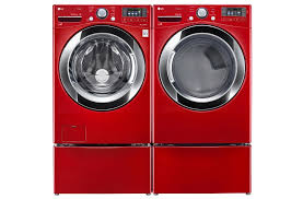 Front Load Washer With Pedestal Lg 4 5 Cu Ft Ultra Large Capacity With Steam Technology