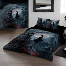 bedding set ravens cry king size duvet set bedroom