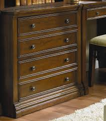 Cherry Wood Lateral File Cabinet by Hooker Furniture Cherry Creek Traditional Lateral File Wayside