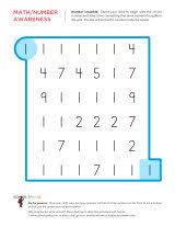 number worksheets sparks