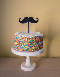 mustache cake topper mustache birthday cake mustache birthday cake topper toping