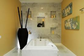 wandgestaltung mit naturstein asiatische wandgestaltung 42 feng shui ideen fürs bad