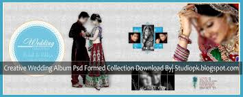 Wedding Photo Album Creative Wedding Album Psd Formed Collection Download Studiopk