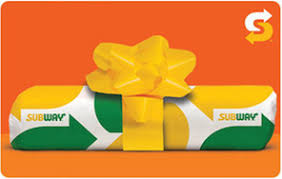 emailable gift cards subway gift cards from cashstar