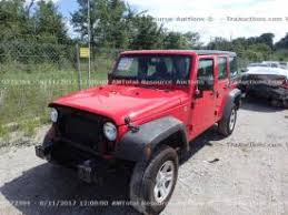 salvage jeep wrangler cars for sale and auction