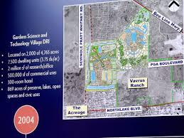 Palm Beach Map Palm Beach Gardens Officials Should Consider Avenir Traffic