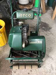 atco traction drive on with cutter handle the old lawnmower club