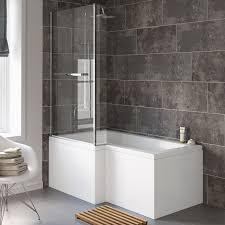 L Shaped Shower Bath 1500 L Shaped Shower Bath Universalcouncil Info