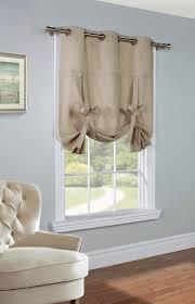 Tie Up Curtain Shade Weathermate Khaki Thermalogic Grommet Tie Up Curtain Curtain
