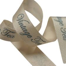 printed grosgrain ribbon personalised ribbon from midpac and packaging lincs printed with