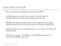 pqrs registries aqihq org the qualified clinical data registry overview of the