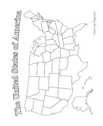 us map outline printable free best ideas of america geography worksheets for your sle