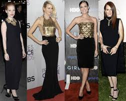 wear this celebrity trend now black and gold thefashionspot