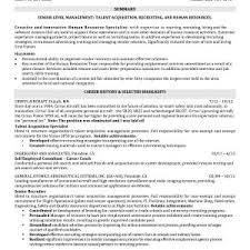 recruiter resume exles new sle technical recruiter resume kercode simplon co