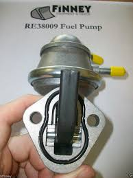 re38009 john deere saran engine fuel lift pump 310c turbo 310d