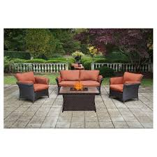 Fred Meyer Outdoor Furniture by Fire Pit Conversation Set Target
