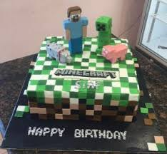 mindcraft cake minecraft cake