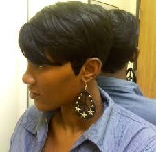 Short Bob Weave Hairstyles Shondra U0027s Quick Weave Hairstyles Short Side View Black Women