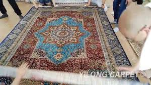 How To Sell Persian Rugs by Chinese Silk Rug On Sale Persian Handmade Carpet 09 Youtube