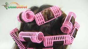 plastic hair plastic clip hair salon curlers rollers 28 pcs small pink