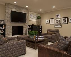 Family Room Decor Ideas Inspiring Your Basement Remodel Basements Basement Decorating