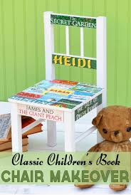 ikea diy ikea diy chair makeover for the book lover mod podge rocks