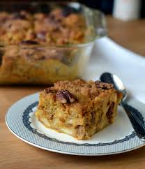 thanksgiving desserts pumpkin pecan bread pudding