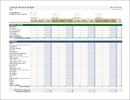 Personal Expense Spreadsheet Free Budget Report Planner Template Printable Calendar Templates