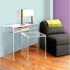 Lucite Office Desk Lucite Office Desk With Concord Legs Furniture For Large Size Of