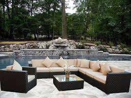 Patio Wicker Furniture - Rattan outdoor sofas