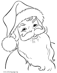 coloring pages to print of santa here you find another beautiful printable coloring page of a happy