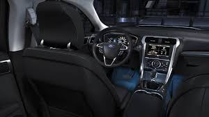 2015 ford explorer interior lights the 2014 fusion titanium shown with standard ambient lighting