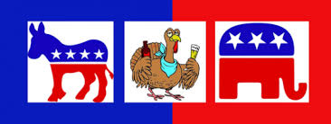 thanksgiving with a dollop of politics on the side