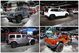 new jeep truck jeep goes big at north american international auto show