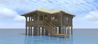 20 beach house blueprints duck blind house plans dantyree