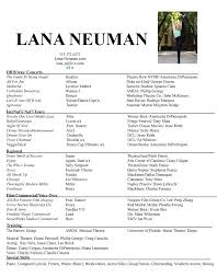 Resume Accent Mark Resume U2013 Lana Neuman