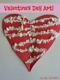 mini monets and mommies valentine u0027s day heart gift bag craft for kids