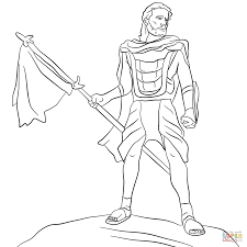 captain moroni coloring page free printable coloring pages
