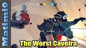 siege mcdonald the worst caveira player rainbow six siege