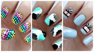 easy nail art for beginners 23 jennyclairefox youtube