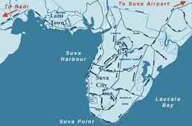 map of suva city fiji s weak hearted drunken prime minister