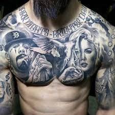 collection of 25 chicano stomach tattoos for