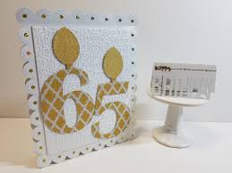 Birthday Card Holder Jumbo 65th Birthday Card And Gift Card Holder The Cutting Cafe