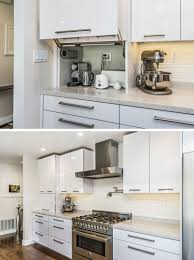 kitchen cabinet appliance garage kitchen design idea store your kitchen appliances in an appliance