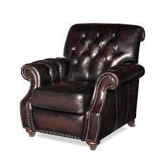 furniture stunning brown leather rechliner chair modern leather