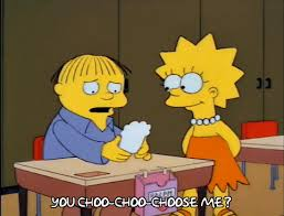 simpsons valentines day card valentines day choo choo choose you gif find on giphy