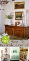 How To Decorate A Desk Remodelaholic How To Decorate A Buffet