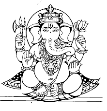 ganesha coloring pages eliolera com