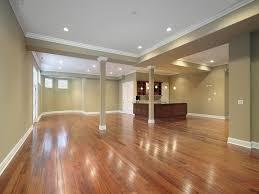 interior waterproof basement flooring ideas wood with white